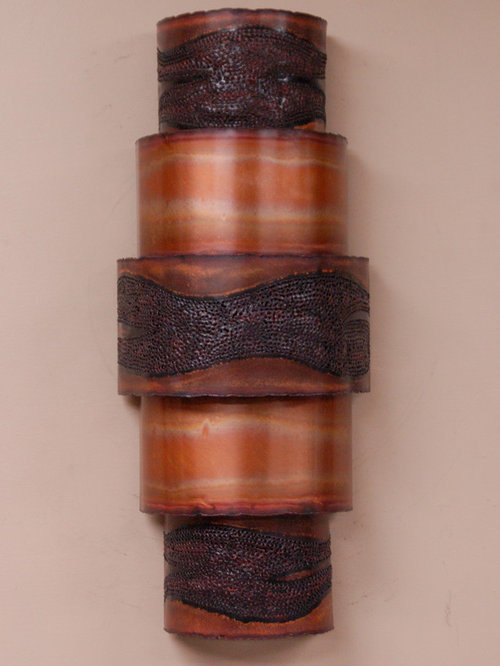 Modern Copper Wall Sconces : Contemporary Copper Wall Sconces