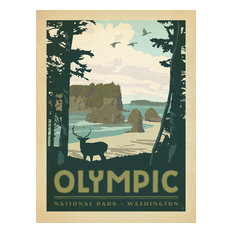 Art & Soul of America: Olympic National Park Gallery Print