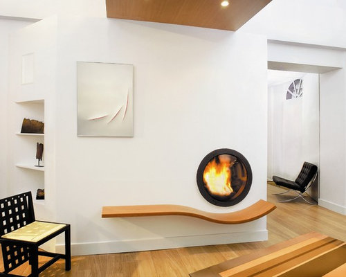 Asymmetry Fireplace Ideas Pictures Remodel And Decor