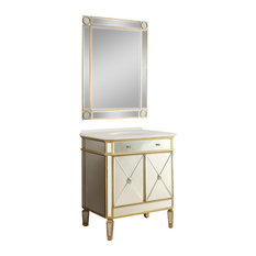 Transitional Bathroom Vanities And Sink Consoles