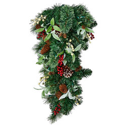 Traditional Wreaths And Garlands by WORTH IMPORTS