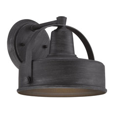 Industrial outdoor wall lights and sconces for less houzz designers fountain designers fountain portland ds outdoor lighting fixture weathered pewter small aloadofball Gallery