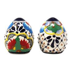 Encantada Handmade Spice Shakers, Dots & Flowers