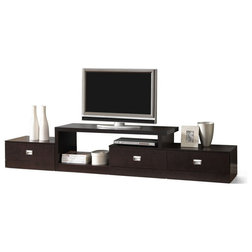 Transitional Entertainment Centers And Tv Stands by HedgeApple