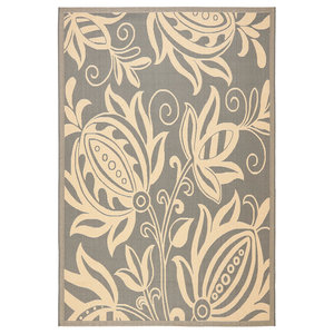 Safavieh Courtyard Cy2961-3606 Gray, Natural Area Rug