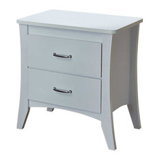Acme Babb Nightstand White