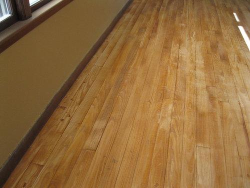 Staining A Fir Wood Floor