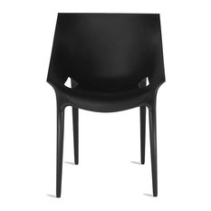 Dr. Yes Chair by Kartell, Set of 2, Black
