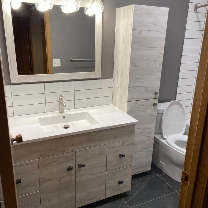 Kristie Heil bathroom