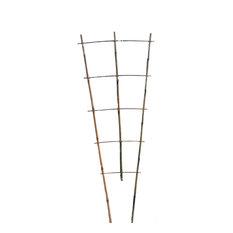 "Set of 5 Bamboo Ladder Trellis, 48"", 3 Tiers"