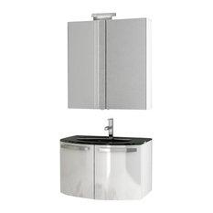 inch vanity set bathroom vanities  houzz, Bathroom decor