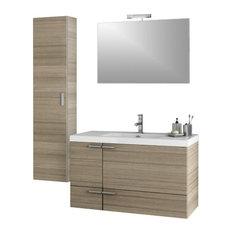"""39"""" Larch Canapa Bathroom Vanity Set"""