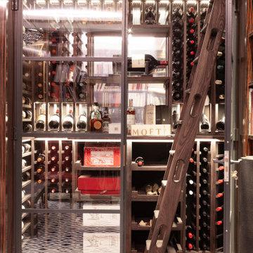 WIne Cellar in Media Room