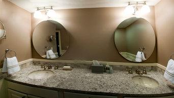 Double Residential Bathroom Remodel
