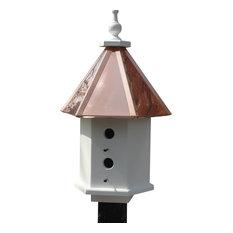 Estate Birdhouse, Copper