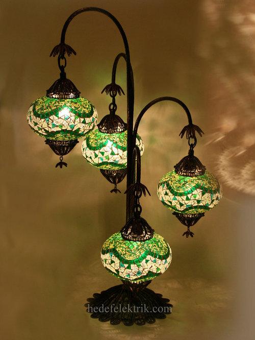 Turkish Table Lamp: Turkish Style - Mosaic Lighting - Table Lamps,Lighting