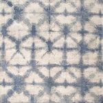 "Pasargad - 9' 0"" X 12' 0"" Shibori Hand Loomed Silk & Wool Area Rug - Shibori Hand Loomed Silk & Wool Area Rug"
