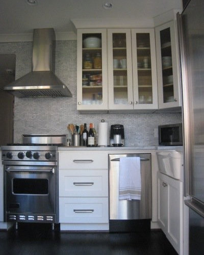 Small kitchen apartment ideas pictures remodel and decor for Houzz small apartments