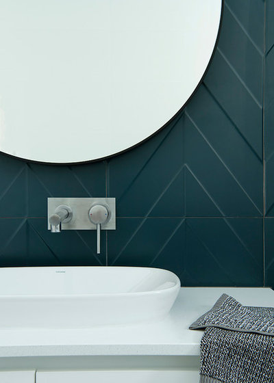 Modern Bathroom by Collected Interiors