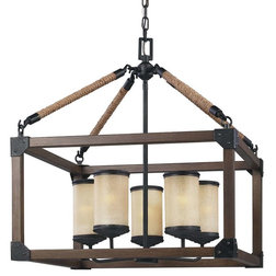 Beach Style Chandeliers by Mylightingsource