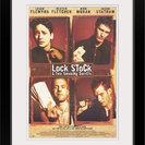 """Lock Stock and 2 Smoking Barrels (1998)"" Black Framed Art Print, 20""x26""x1"""