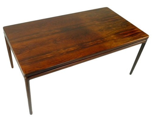 Danish Rosewood Dining Table by Johannes Andersen