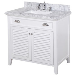 Vintage Transitional Bathroom Vanities And Sink Consoles by Kitchen Bath Collection