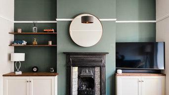 Bespoke Built In Living Room Cabinets