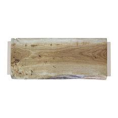 Large Natural Oak Chopping Board, Warm Cream