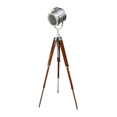 avion innovative products marine signal tripod floor lamp floor lamps - Spotlight Floor Lamp