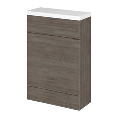 Combinations WC Unit, Grey-Brown, Compact, 60 cm