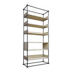Monte Bookcase Reclaimed Lumber Shelves