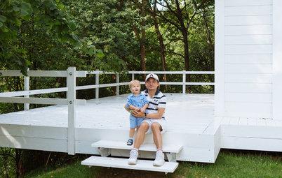 В гостях: Стеклянный дом на краю обрыва в Подрезково