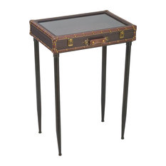 Tripar International Inc Gl Top Suitcase Display Side Tables And End
