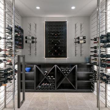 Modern Wine Cellar, South Barrington IL