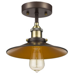 Industrial Flush-mount Ceiling Lighting by CHLOE Lighting, Inc.