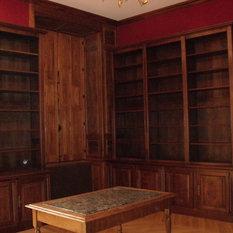 meuble biblioth que classique. Black Bedroom Furniture Sets. Home Design Ideas