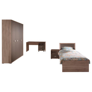 Emma Room Study Set, Without Pull Out Bed