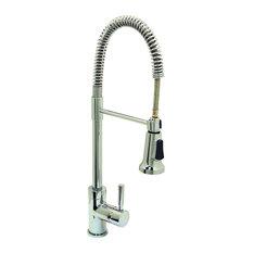 Premier Essen   Premier Essen 120334LF Commercial Style Pull Down Kitchen  Faucet, Chrome   Kitchen