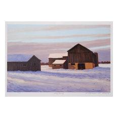 """Snowy Morning"" Artwork"