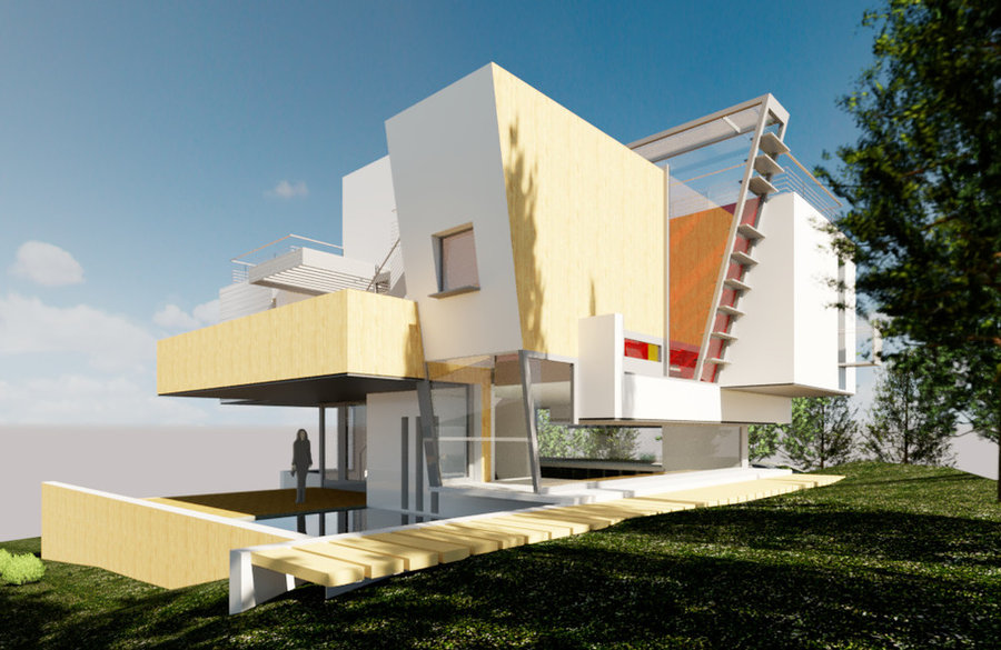 Concept Design-Contemporary House
