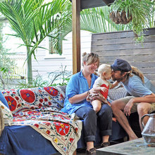 My Houzz: Family Is Close at Hand in a 19th-Century Brisbane Cottage