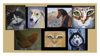 Wall Art Pet Portraits