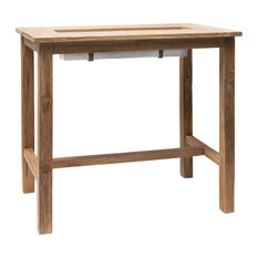 St Mawes Garden Drinks/Planter Bar Table, 4-Seater