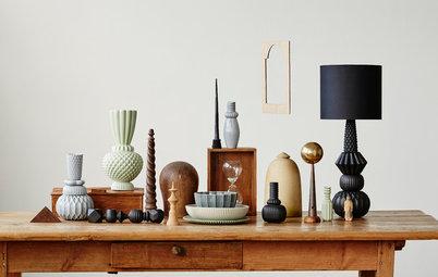 Vänliga kontraster – Så inreder du med den trendiga 70-tals keramiken