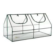 Ultra Deluxe Compact Outdoor Seed Starter Greenhouse Cloche