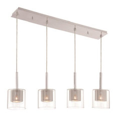 50 most popular halogen pendant lights for 2018 houzz decor therapy 4 light rectangular pendant pendant lighting aloadofball Images