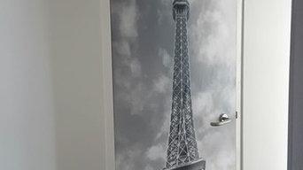 Paris Effiel Tower Door Art