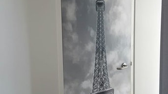 Paris Effiel Tower Door Art