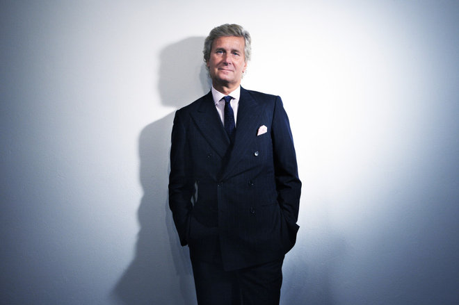 Claudio Luti, president of Salone del Mobile, MIlan - Photo by Francesco Brigida